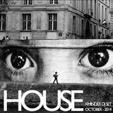 Xminder plays HOUSE - October 2014 - Vinyl DJ Set