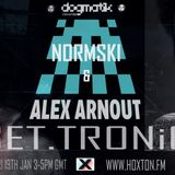 #GetTronic __ @mistaNormski __ @alexarnout #803 19/1/18