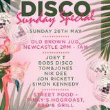 Tom & Jones - 006 - Bank Holiday DISCO Sunday special MIX
