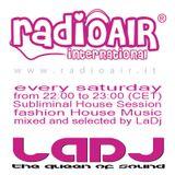 "Silvia Riolo LaDj ""Subliminal House Session on Radio Air"" 22-10-2011 RADIO SHOW"