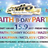 Dj Faith - B-Day party, live set from Studio54 16.9.2017