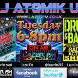 21.03.17 DJ Atomik UK Radio-Active DnB Show @ www.lazerfm.co.uk