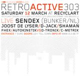 """D-Jack at """"Retroactive 303"""" at Recyclart (Brussel - Belgium) - 12 March 2005"""