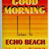 Echo Beach Radio Broadcast from Chicago, 11-01-13