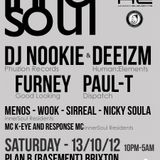 SirReal b2b Nicky Soula Live @ innerSoul OCT2012