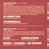 DJ Addiction - Live at Act*Yo*Age [DC] 9-5-2001