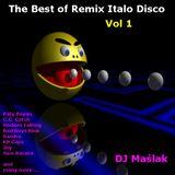 DJ Maslak The Best Of Remix Italo Disco 2001 Vol. 1