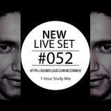 McCormick - Live Set # 052  1 Hour Study Mix