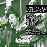 Miss Disk - Lovely records label night - Maxima.fm  #lovelyinsessions