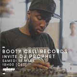 Booty Call Records Invitent DJ Prophet - 12 Mars 2016