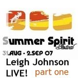 Leigh Johnson LIVE! @ Summer Spirit Festival 2007