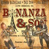 Bonanza & Son ResonanceFM - 25 January 2017 - Miranda Mulholland+Tali Trow+John Murry live session