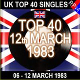 UK TOP 40 06-12 MARCH 1983