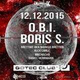 BrettHit aka Markus Bretter at Gotec Club DstrctX HT Edition w/ O.B.I. and Boris S. (Hardtechno)