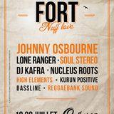 Nucleus Roots & Ossie Gad @ Fort Nuff Love, Quiberon, 2013