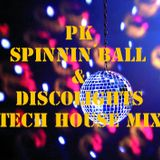 PK Spinning´Balls & Disco Lights - Tech House Mix Nov. 2016