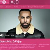 BBC Asian Network - DJ Vjay's Urban Desi Mix on DJ AJD's show (June 2019)