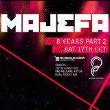 Mark Plasma - Majefa, 8 Years Part 2 - Plasma Future Room @ Sound Control, Manchester - 17.10.15