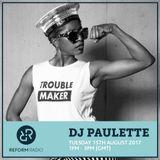 DJ Paulette 15th August 2017