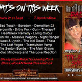 The ROXX Show at Hard Rock Hell Radio 21st Sept NEW Sweet & Lynch Theia Gun The Idol Dead