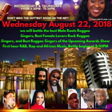 Lady Flava Show featuring nominees of the Best Female Lovers Rock Reggae Singers, Best Roots Reggae