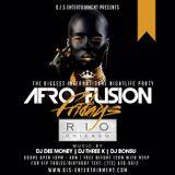 DJ Dee Money Live Afrofusion Friday Mix