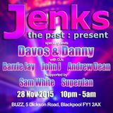 JENKS @ BUZZ - BLACKPOOL - NOV 2015 - DJ SAM WHITE *FREE DOWNLOAD*