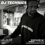 DJ Technics Radar Radio 3.11.2016