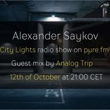 Analog Trip @ City Lights Radioshow On Pure.fm [san Francisco] 12 Oct 2015