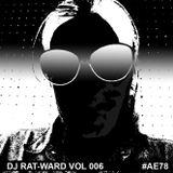 """DJ RAT-WARD VOL 006 """"More Electro-Pop Classics 1981-1986"""""""