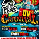 Cypher Tech Trance MixPams House Easter Sunday@Carnival 8th April 2012