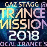 GAZ STAGG @TRANCE MISSION 2018