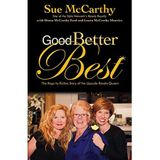 GOOD, BETTER, BEST: Sue McCarthy
