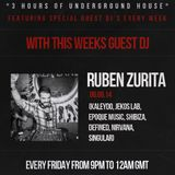 Lex Loofah's HOUSE SESSIONS With Guest RUBEN ZURITA On Club Vibez Radio 06/06/14