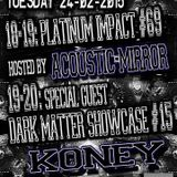 Koney Dark Matter Showcase on Gabber.FM 24/02/2015
