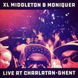 XL Middleton & Moniquea live at Charlatan, Ghent - 2 September 2016