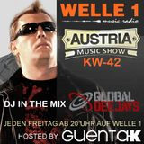 AUSTRIA MUSIC SHOW KW. 42 auf Welle 1 Hosted by Guenta K - Global Deejays in the Mix
