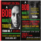 Rocksteady ATL presents BOB MARLEY 71st BIRTHDAY BASH Promotional Mix by DJ Passport