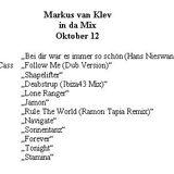 Markus van Klev in da Mix Oktober 12