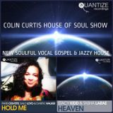 COLIN CURTIS PRESENTS THE HOUSE OF SOUL SHOW 14 SEPTEMBER 2018