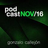 podcast nov16 - Gonzalo Callejón