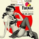 SashaALEX - Live@FakMak, Perm, RU - 18-05-2013
