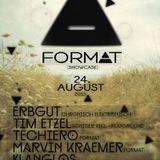 Techiero FORMAT Showcase 24.08.2013 Club London Underground