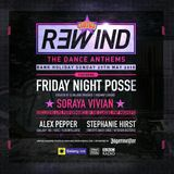 Friday Night Posse LIVE RECORDING - R3WIND May 2018 - HarryHard Main Set