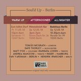 Soul'd Up Berlin [11./12.May 2018] Warm-Up & Afternooner spins