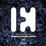 Danny Lloyd - Elements Radio Show 048