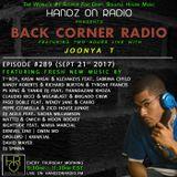 BACK CORNER RADIO: Episode #289 (Sept 21st 2017)