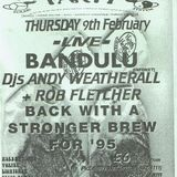 Bandulu live at Herbal Tea Pary Manchester 9th February 1995