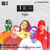 Casual Play w/ Spinorita, WSG Cheslin Pick, Franky Stache, Alex Coly, Oriön - 26th September 2019