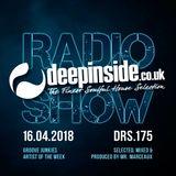 DEEPINSIDE RADIO SHOW 175 (Groove Junkies Artist of the week)
